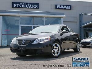 2008 Pontiac G6 GT   V6/Power Sunroof/Only 106,685 KM !