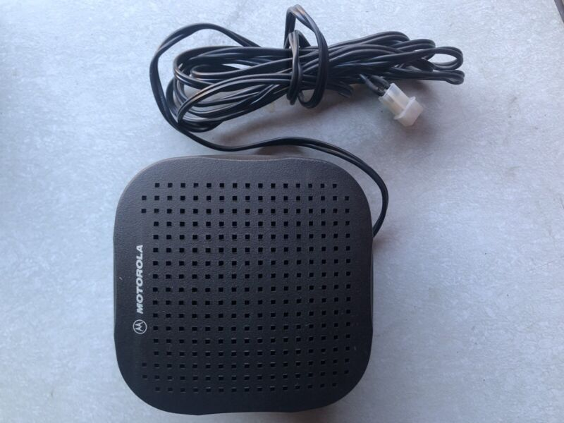Motorola HSN4039A  External Radio Speaker mcs2000  UHF VHF XLT2500 APX 13 Watt