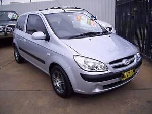 2007 Hyundai Getz Hatchback Woodbine Campbelltown Area Preview