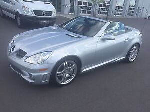 Mercedes Benz SLK55 AMG convertible