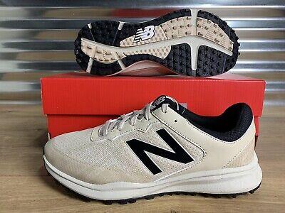 New Balance Breeze 1801 Spikeless Golf Shoes Khaki Tan SZ ( NBG1801KH ) NEW!!