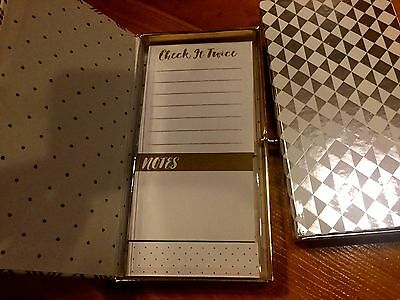 P40 New Lot Of 2 Combo Sets Sticky Notes Note Pad And Tabsmarker Free Sh