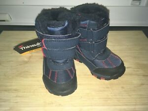 Infant size 4 winter boots
