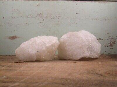 Quartz Natural Raw White Crystal Rough Lapidary Healing 2 2lbs 4oz M1011IK  - $6.00