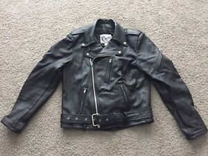 Canadian Made Motorcycle Leather Jacket