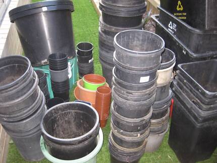 150+ Garden Pots. used for plant removal due to rebuild