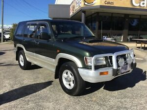 2001 Holden Jackaroo SE Turbo Diesel finance available Underwood Logan Area Preview
