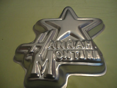 WILTON  Hannah Montana Cake Pan #2105-4060 with Decorating Instructions