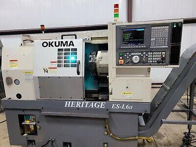Okuma Heritage Es-l6ii Cnc Lathe Osp-u10l Wigf