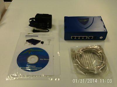 Qty 5 Agr2000 Aboundi 4 Port Ethernet Cable Dsl Broadband...