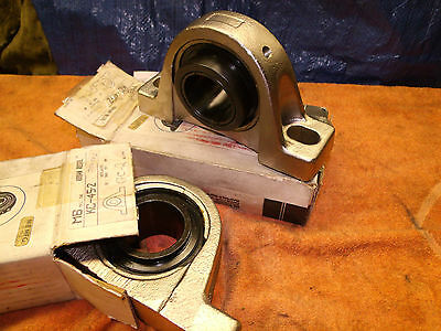 """MB KC-45-2 Pillow Block Bearing 2 """" inch Casting is KC-210 nickel plated New"""