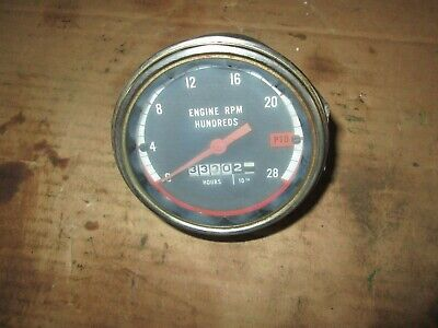 Oliver Tractor 17501850.175518551950t19552150 Good Working Tachometer