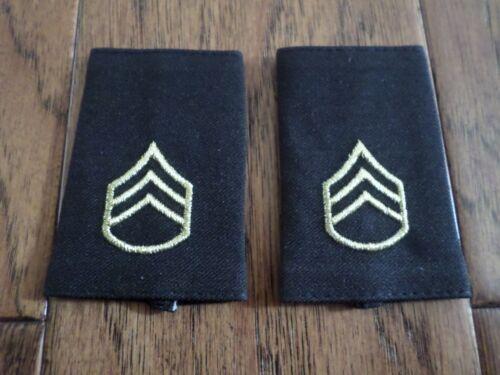 U.S MILITARY SHOULDER EPAULETS ARMY STAFF SERGEANT MEN