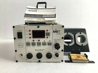 Pace Mbt Sensatemp Model Sr 4 Soldering And Desoldering Station