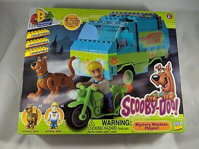 Scooby Doo Mystery Machine Character Building Playset Minifig Set COBI **NEW**