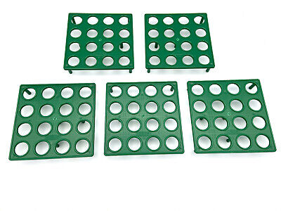 Er16 Collet Rack Holder Tray Box Of 5 Each Hold 16 Collets Made In U.s.a.