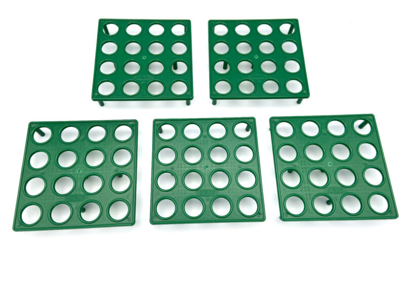 ER16 Collet Rack Holder Tray (Box of 5) (each hold 16 collets) Made in U.S.A.