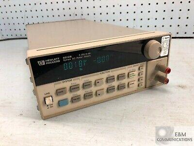 6612b Hp Agilent Dc Power Supply System 0-20v 0-2a 40-100w