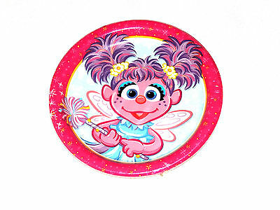 ~ABBY CADABBY ~ 8- SMALL PAPER DESSERT  PLATES  BIRTHDAY-CHILD   PARTY SUPPLIES ()