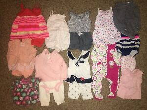 Assortment Of Baby Clothes