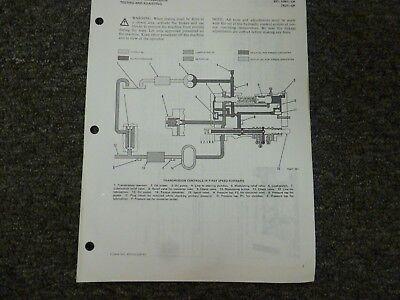 Caterpillar Cat 931 Loader Powershift Transmission Shop Service Repair Manual
