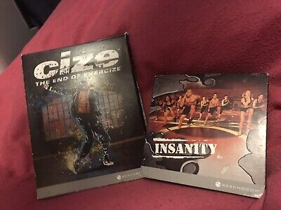 Insanity: Ultimate Cardio Workout (10 Disc) & Cize The End Of Exercize (3 Disc)
