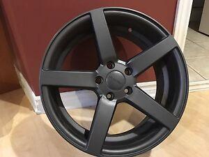 """Ruffino BOSS wheels 18 X 8"""" Matt Anthracite"""