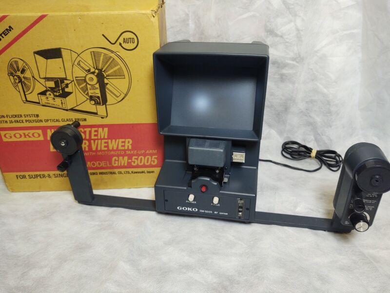 Goko Super 8 Single 8 Editor Viewer GM 5005