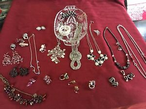 Lot of Jewelry  Clip on Earrings for $15