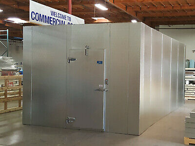 New 10 X 10 X 8 Walk-in Cooler 100 Us Made W Refrigeration...only 8570