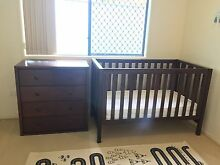 King Parrot Cot Toddler Bed Drawers Mattress Baby Furniture Coolangatta Gold Coast South Preview