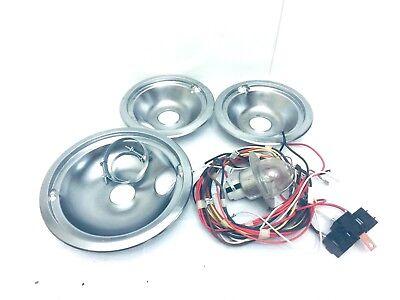 GE  Electric Stove Range  Electric Assembly burner bowl & bulb
