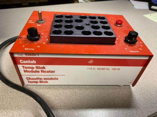 LAB-LINE Temp-Blok Module Heater H2025-1, 20 Well Block