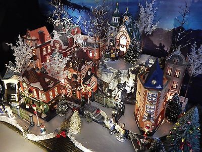 "X-Deep! MULTI LEVEL 64"" Christmas Village Display platform base Dept 56 Lemax"