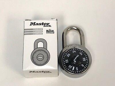 Master Lock 1502 Combination Lock Black