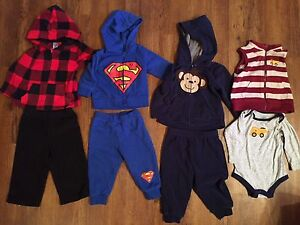 6-12 month boys clothing lot