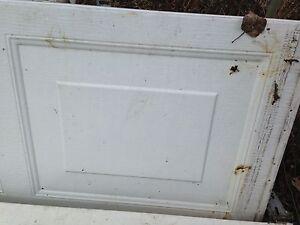 Shed door.