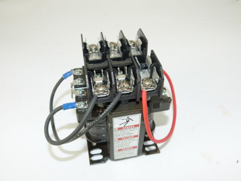 Square D 9070TF100D1 Transformer PRI 220/440 230/460 240/480 SEC 110 115 120 NEW