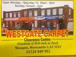 Westgate carpet clearance centre