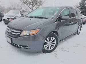 2015 Honda Odyssey EX-Res 1-Owner|DVD|Heated Seats|
