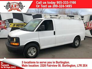 2013 Chevrolet Express 2500 Cargo Van, Automatic, Back Up Camera