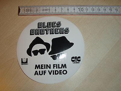 Aufkleber Blues Brothers 80er Jahre