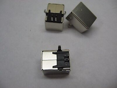 USB Type B Female Right Angle Replacement Plug Socket Connectors Jack Port OZ AU
