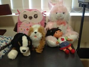 Various soft toys Ashfield Ashfield Area Preview