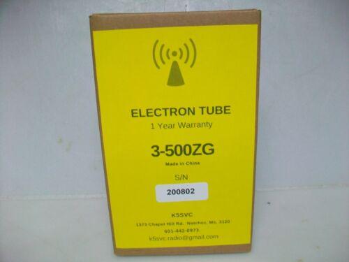 NEW  3-500ZG ELECTRON TUBE  1 YEAR WARRANTY