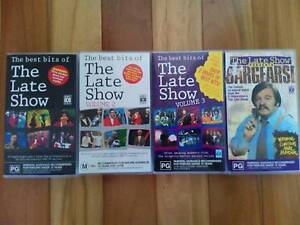 4x The Late Show VHS Videos 1990s Aussie Comedy Collector Tapes Allawah Kogarah Area Preview