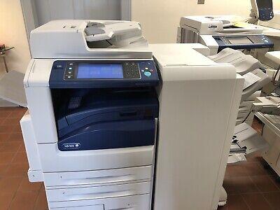 Xerox Workcentre 7970i Mfp Printer Scanner Copier 70ppm Booklet Finisher