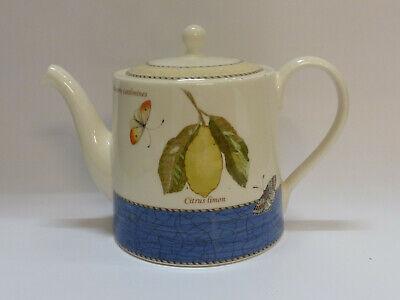 Wedgwood Sarah´s Garden Teekanne blau / tea pot blue  1.2 l 50272502805 Garden Teekanne