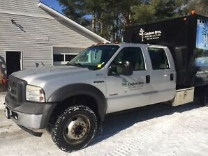 2005 FORD F-550 FORESTRY / CHIPPER TRUCK