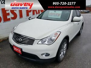 2015 Infiniti QX50 AWD, SUNROOF, HEATED LEATHER